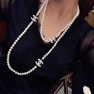 Chanel Pearl Necklace💗