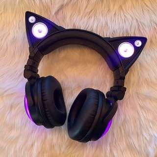 Axent Wear Cat Ear Headphones (Brookstone Origina)