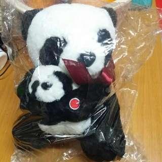 全新熊貓公仔