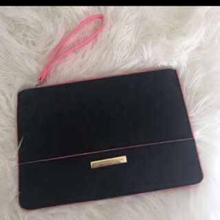 Black And Pink Colette Clutch