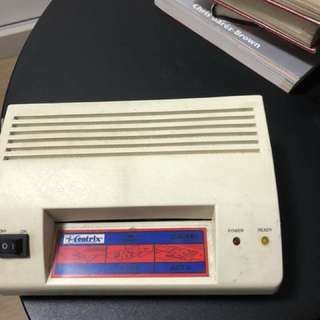 Mini laminator only laminate card and ic size. Working condition