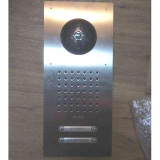 SSS Siedle Classic Video luxury Intercom for 2 apartments house.