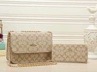 Coach Handbag + Purse
