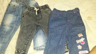 Preloved baby jeans girl