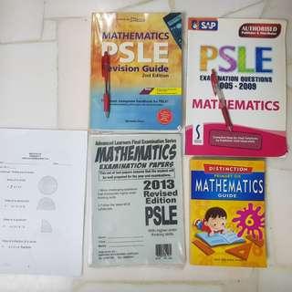 PSLE P6 math assessment books