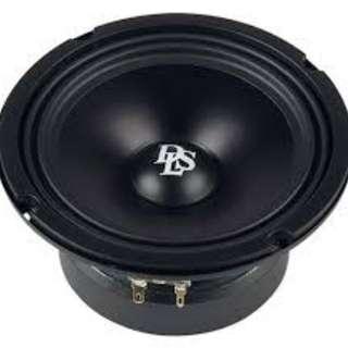 DLS RC6 mid bass 1pair