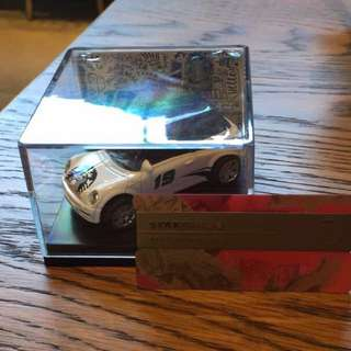 Starbucks DT MINI CAR (White)