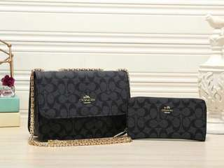 Coach handbag+purse