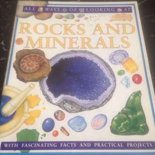 ROCKS AND MINERALS - with Fascinating facts and practical projects (One day Special Offer!)