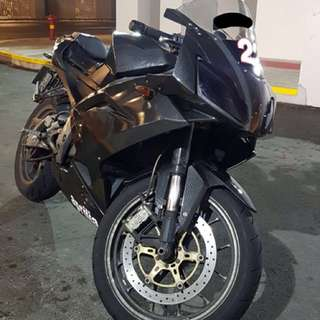 Aprilia RS125' 2006-2011 Carbon Styled Fairing for Sale/Pre-Order