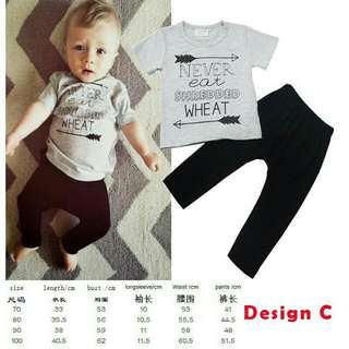 Grey Boy Set (3y only)