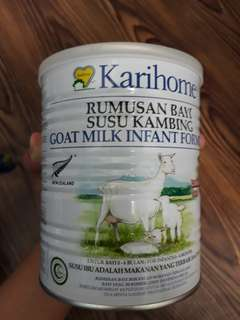 Susu kambing karihome