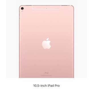 "10.5"" iPad Pro + Smart Keyboard + Apple Pencil 全套"