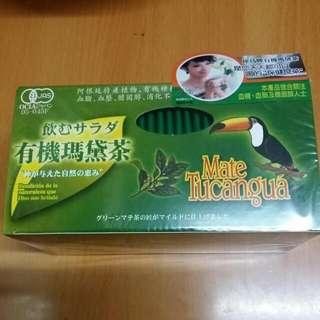 犀鳥牌    有機瑪黛茶    75克  (3克  x  25 包)  每盒