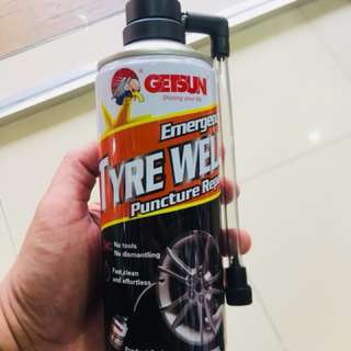Tyre Weld - Anti flat tyre