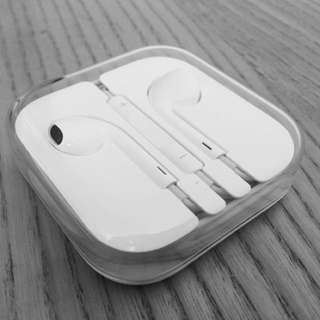 Apple headset with mic and volume key
