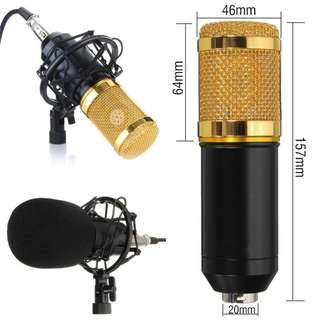 *INSTOCK Grab and Go* Condenser Microphone for Professional Recording Karaoke Smule