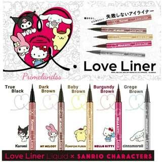 Loveliner Sanrio眼線液