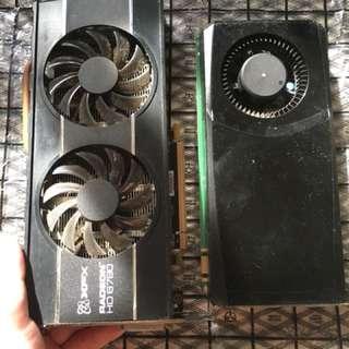 XFX Radeon HD 6790 & GTX 555 (spoilt I think)