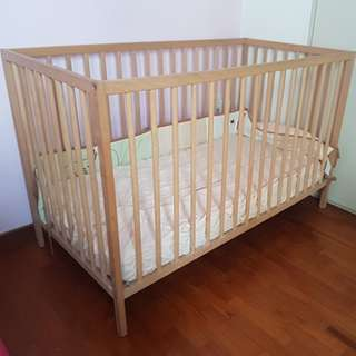 Ikea SNIGLAR Baby Cot
