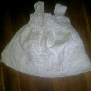 Purple Candy  White Dress Repriced