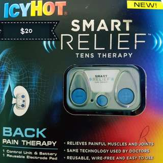 Smart Relief tens therapy - back pain