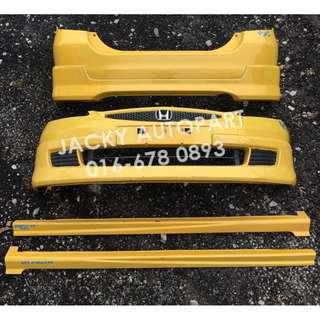 Bodypart Kuning Modulo XX Honda Jazz Fit Gd3 Japan