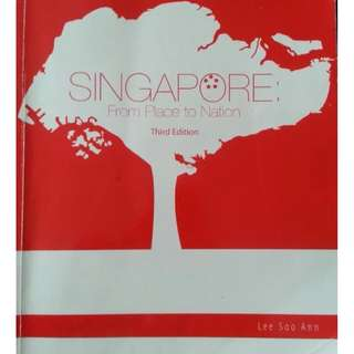 [E-BOOK] Singapore: From Place To Nation Third Edition by Lee Soo Ann