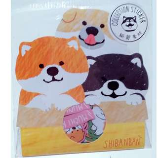 柴犬家族 貼紙包