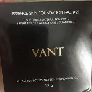 VANT essence skin foundation pact #21