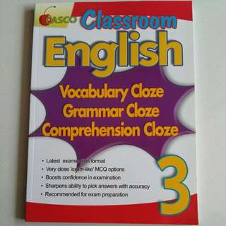 P3 CASCO English Practice Book