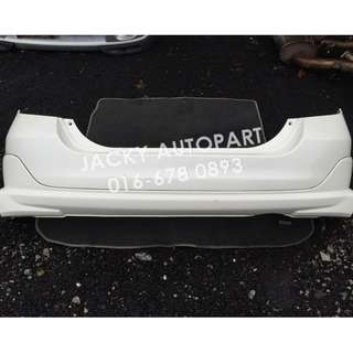 Rear Bumper Modulo vv Putih Honda Jazz Fit Gd3 Jpn