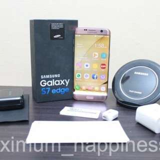 Samsung Galaxy S7 Edge Pink Gold - With Issues - Original