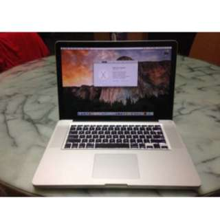 "15"" MacBook Pro Mid 2011 Model (Mint)"