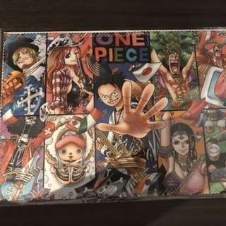One piece limited edition cloth