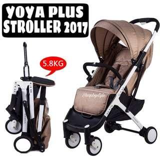 Yoya Plus Baby Lightweight Stroller 5.8kg [2017 Version]