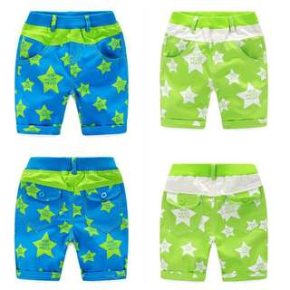 Boys Star Shorts