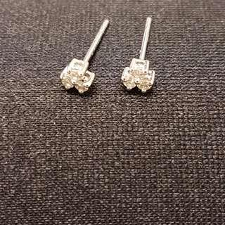 12份鑽石耳環