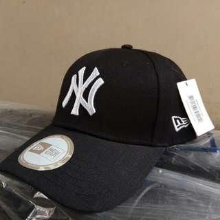 Topi baseball NY new york yankees black