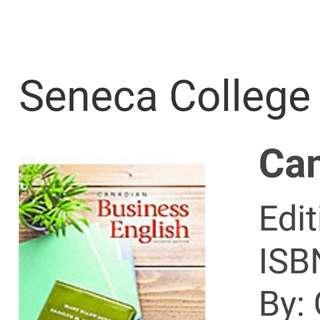 Business Communication  Seneca College back 111