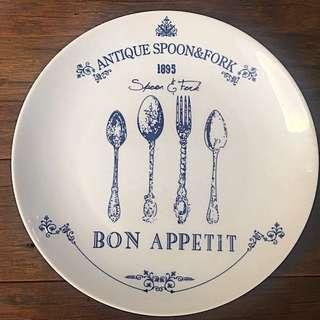 Vintage design plate