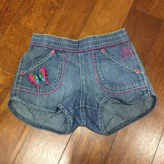 NEW Authentic Ed Hardy shorts jeans size 7y