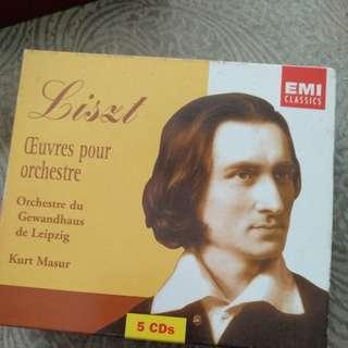 CD, Classical, Liszt