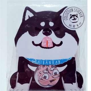✨可愛柴犬 - 黑柴✨貼紙包 ✨