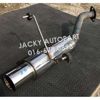 """Muffler Exhaust Perfomance APEXi Bomber III 2"""" Jpn"""
