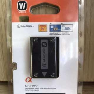 全新 Sony 原廠相機電池 NP-FW50