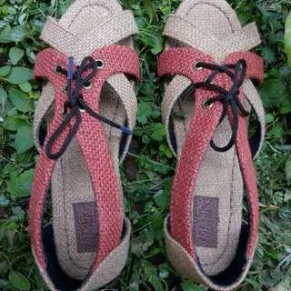 Sepatu Sendal Wanita - Sepatu Sendal Goni