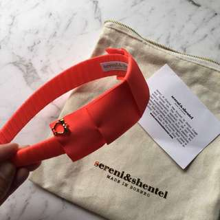 Sereni and Shentel Kids Block Party Headband Orange