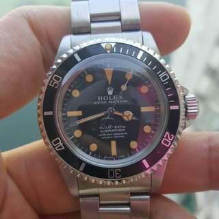 Rolex 5512 Rail Submariner Watch