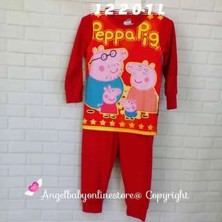 (Nett Price) Peppa Pig Sleepwear